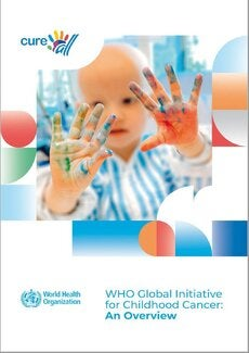 Cover of the booklet of the WHO Childhood Cancer Initiative
