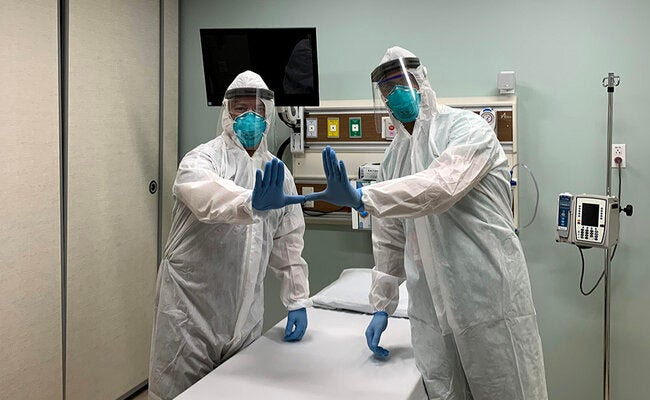 Advanced nurses on the front lines of the pandemic