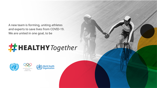 IOC joins forces with WHO and the United Nations to fight COVID-19 thumbnail