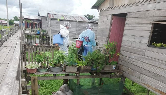 PAHO Director calls to contain spread of COVID-19 in vulnerable populations in border areas thumbnail