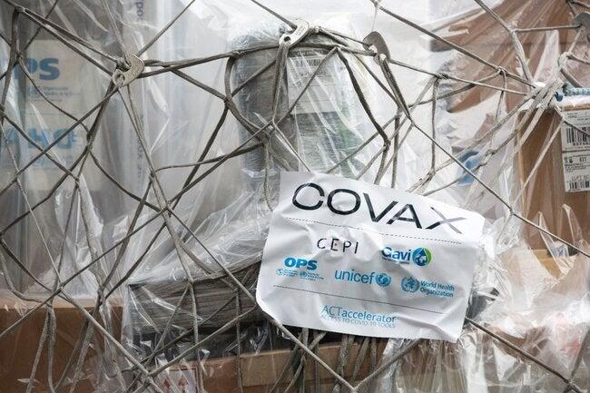 Brasil receberá as primeiras vacinas contra COVID-19 por meio do Mecanismo COVAX neste domingo thumbnail