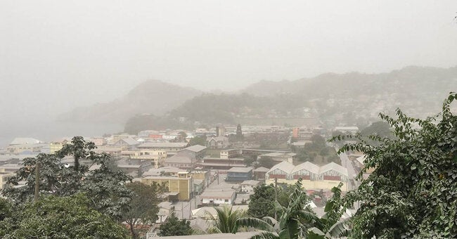 PAHO expresses concern over health hazards derived from Volcano La Soufriere eruption and recommendations to mitigate health risk