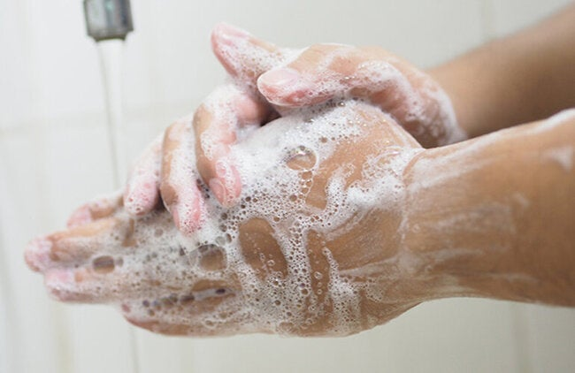 Recommendations to expand access to hand washing and its proper use