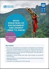 WHAT MINISTRIES OF ENVIRONMENT AND ENERGY NEED TO KNOW